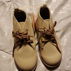 Boys Beige Buck Boots - NWT